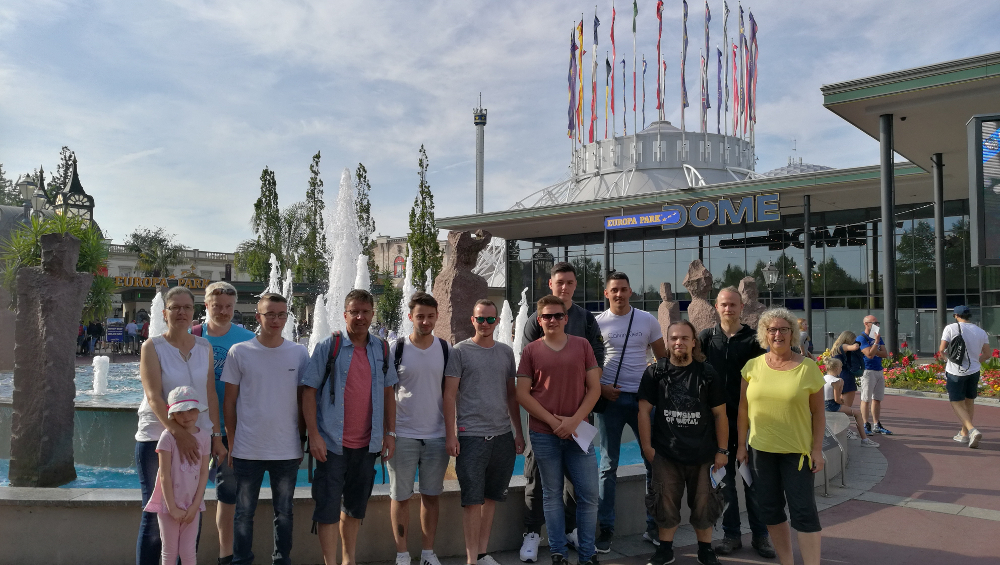Ein Gelungener Tag Im Europa Park; Unser Betriebsausflug 2019